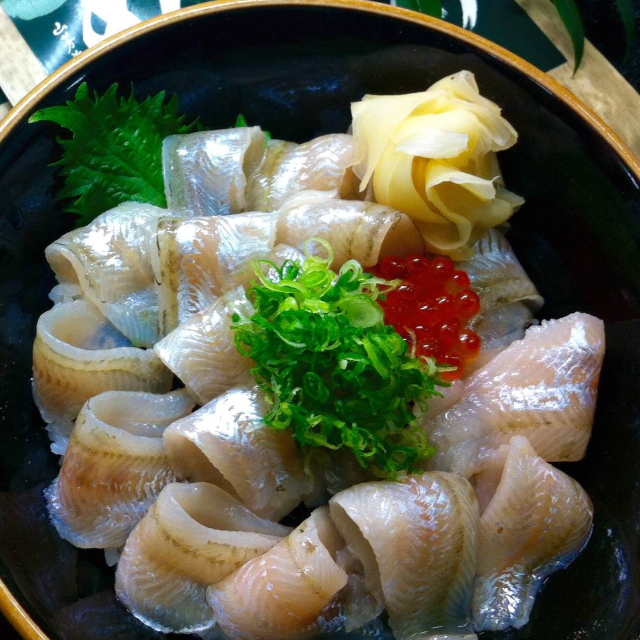 日本海,山陰,鳥取,昆布出汁,海鮮丼,はたはた