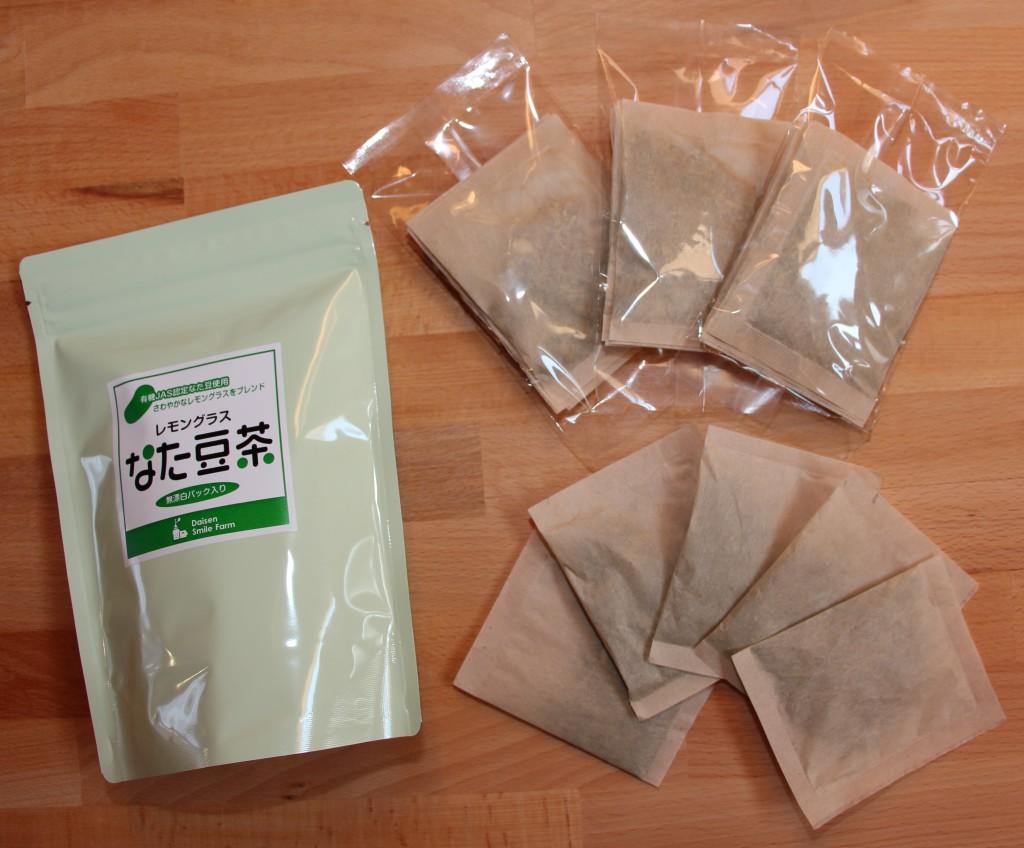 無農薬,JAS,認証,なた豆茶,国産,レモングラス