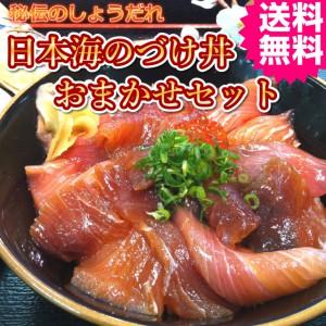 海鮮丼 日本海 づけ 鮮魚